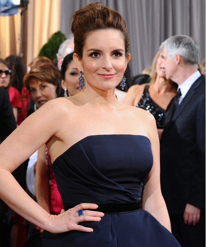 """**Tina Fey**  """"Know what? Bitches get stuff done."""""""