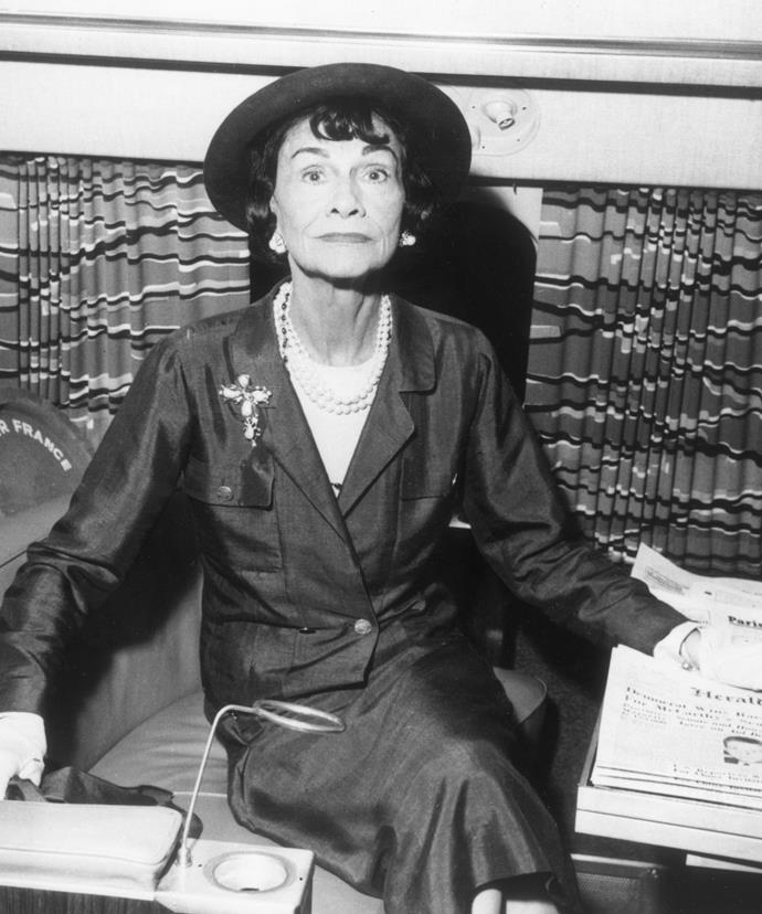"**Coco Chanel**  ""The most courageous act is still to think for yourself. Aloud."""