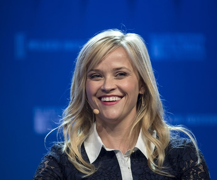 """**Reese Witherspoon**  """"Like Elle Woods, I do not like to be underestimated."""""""