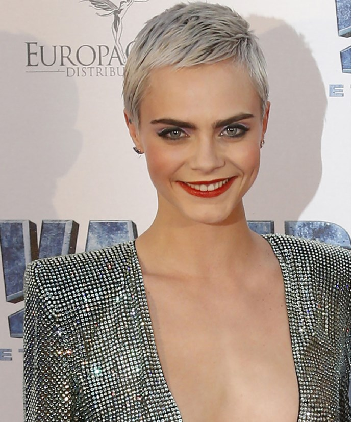 """**Cara Delevingne**  """"You have this one life. How do you wanna spend it? Apologizing? Regretting? Questioning? Hating yourself? Dieting? Running after people who don't see you? Be brave. Believe in yourself. Do what feels good. Take risks. You have this one life. Make yourself proud."""""""