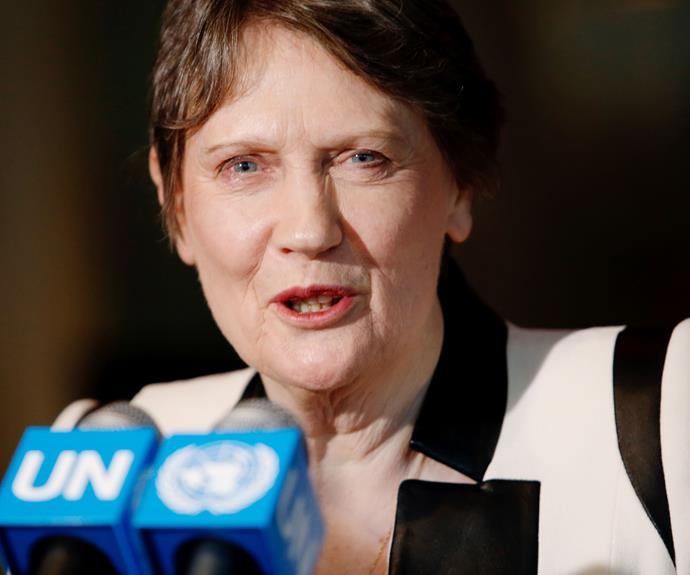 "**Helen Clark**  ""It's like we've always said - you've got to get mad and you've got to get organised."""