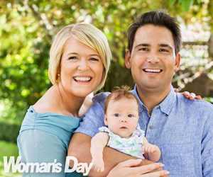 At home with new National Party leader Simon Bridges and his family