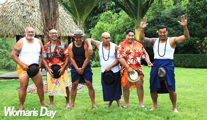 The guys have plenty of new tricks planned for *The Naked Samoans Do Magic*.