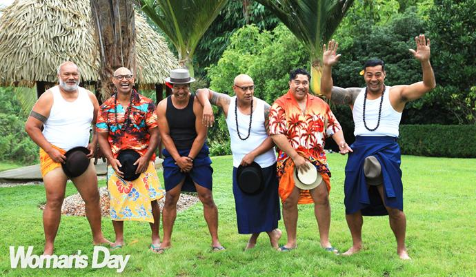 The guys have plenty of new tricks planned for *The Naked Samoans Do Magic*.