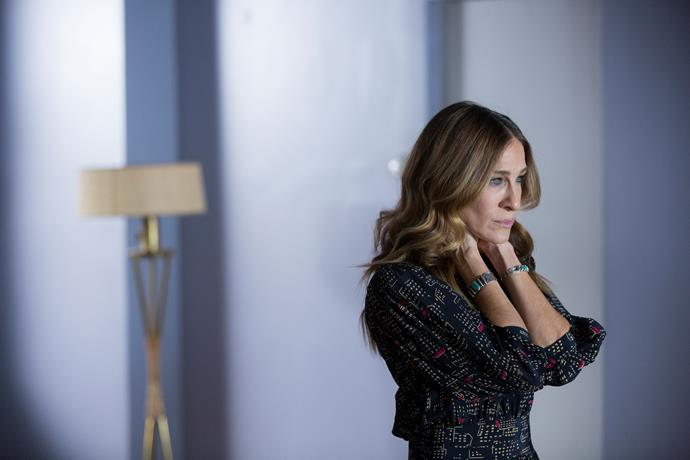 Sarah Jessica Parker in a scene from *Divorce*.
