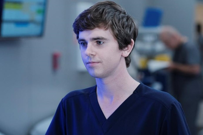 "Freddie Highmore as the ""Good Doctor"", Shaun Murphy."