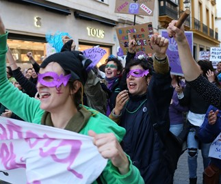 Millions of women go on strike in Spain for 24 hours