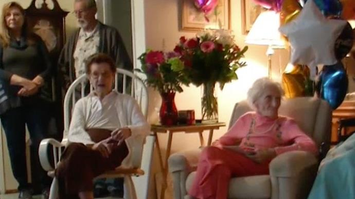The secret to a long, happy life is beer and chips according to 100-year-old best friends