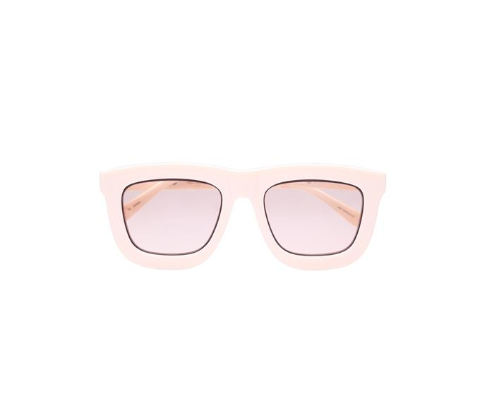 [Glasses, $349, by Karen Walker.](https://www.karenwalker.com/eyewear/all-eyewear/deep-worship-ecru-sgkas1701419/ecru)
