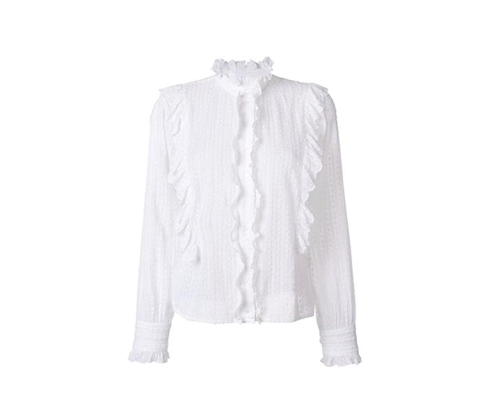 [Isabel Marant Étoile blouse, $489, from Workshop.](http://www.workshop.co.nz/ProductDetail?CategoryId=4&ProductId=25731&Colour=White)