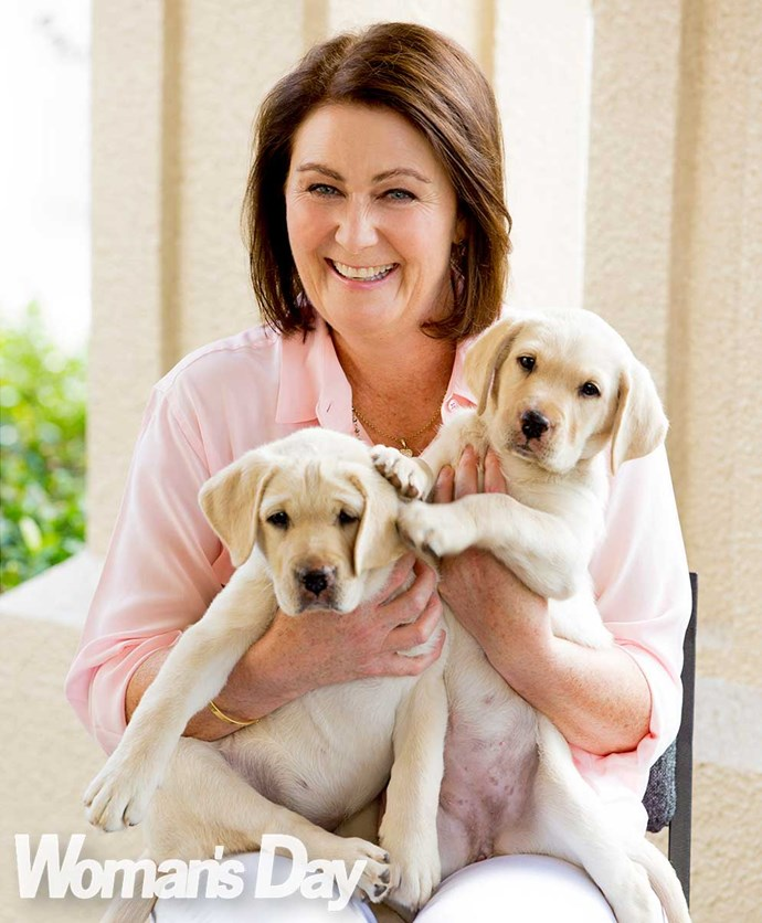 "Clarke's taken up the charity mantle, and [arm-full of puppies from Bronagh Key](https://www.nowtolove.co.nz/celebrity/celeb-news/bronagh-keys-secret-to-living-a-normal-life-1418|target=""_blank"")."
