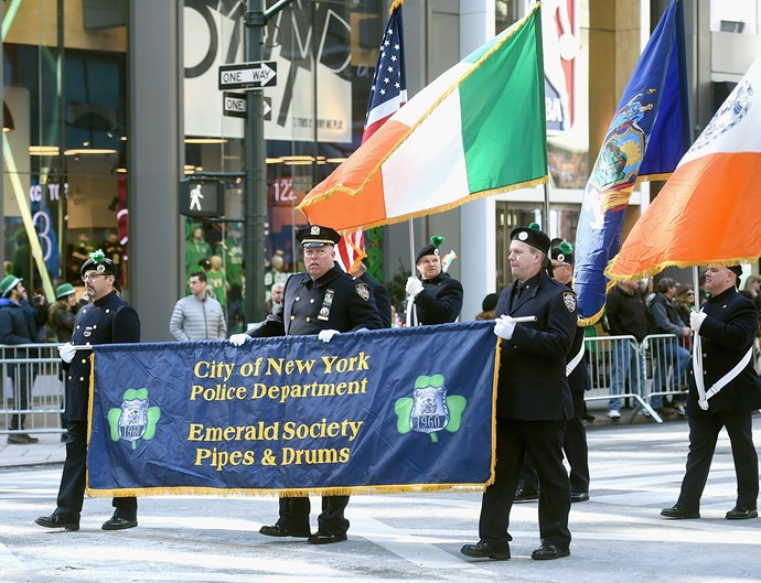 **New York has the world's biggest parade**  Approximately two million people are expected to line the streets of Manhattan for the biggest St Patrick's Day parade in the world. A parade has taken place in the city every St Patrick's Day since 1762.