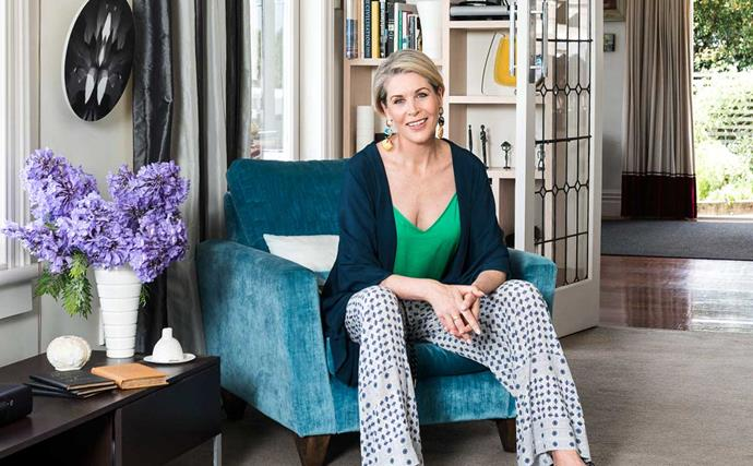 Jennifer at home in Auckland – with a career that thrives on variety, she values the constancy of home and family.