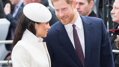 The cheeky exchange between Harry and Meghan we weren't supposed to see