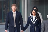 "Prince Harry says recent secret charity visit with Meghan Markle ""shook"" them to the core"