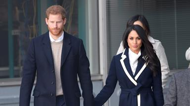 """Prince Harry says recent secret charity visit with Meghan Markle """"shook"""" them to the core"""