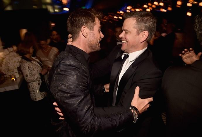 Matt Damon has purchased a house in Byron Bay next door to Chris Hemsworth