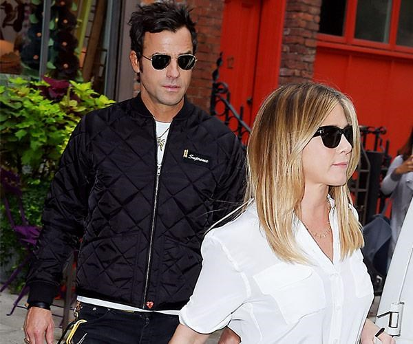 Jen and Justin announced their divorce last month.