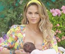 Celebrity mums on a mission to normalise breastfeeding