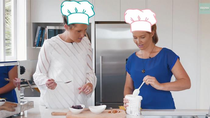 Kate and Sylvia show us how to make a quick, easy and healthy brekkie.