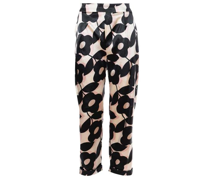 Pants, $379, by Caroline Sills.