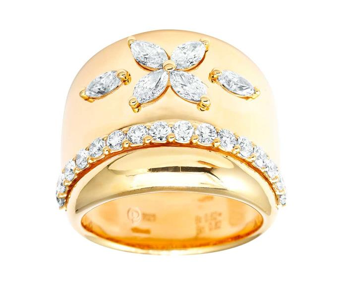 Ring, $8590, by Partridge Jewellers.