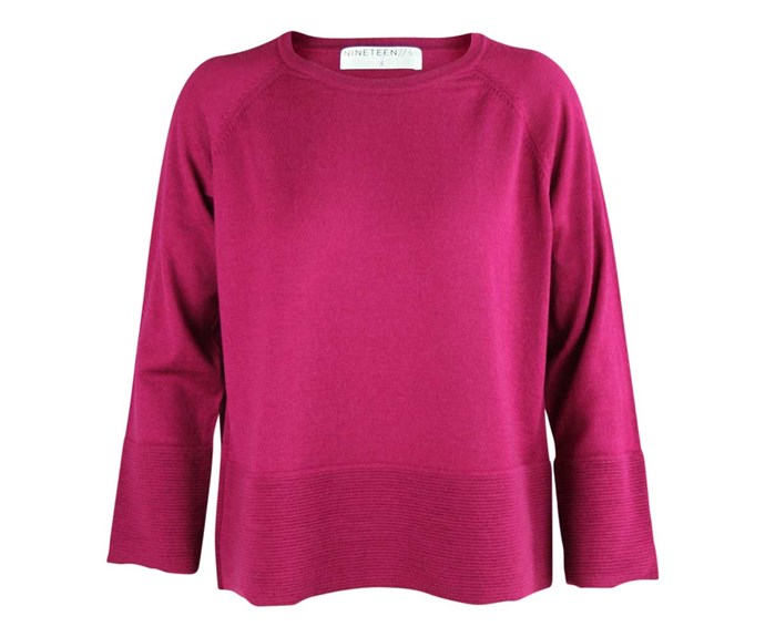 Sweater, $275, by Nineteen46.