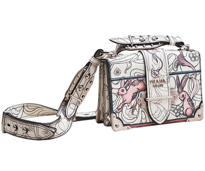 Bag, $4750, by Prada.