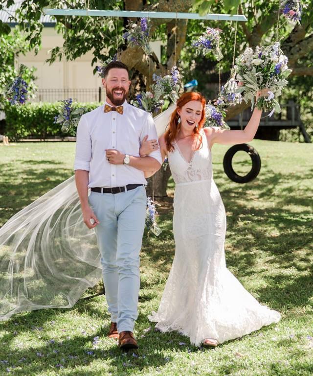 Dancing with the Stars dancer Matt Tatton Brown marries his best friend in fairytale wedding