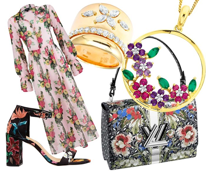 How to wear floral print and still look polished