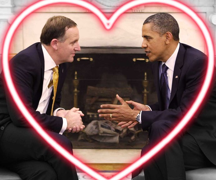 John Key and Barack Obama's diplomatic bromance