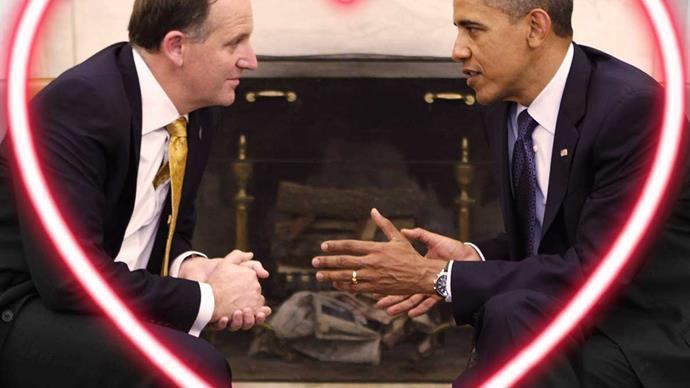 John Key and Barack Obama's diplomatic bromance