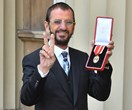 Arise, Sir Ringo Starr! Beatles drummer is knighted by Prince William