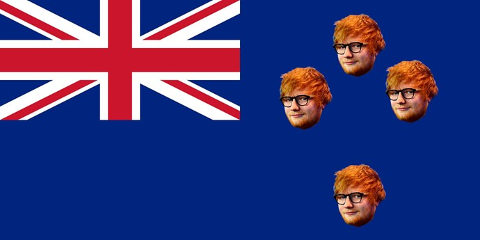 And we know the flag referendum went down like a tonne of bricks but hey, we finally found something the whole country likes, apparently. So how is this for the new flag?
