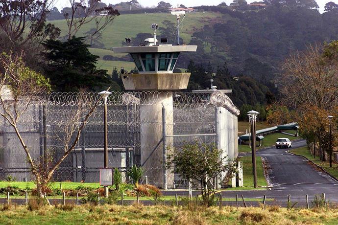 Maximum security Paremoremo Prison.