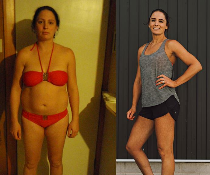 Kate gained between 25-30kgs throughout her three pregnancies.