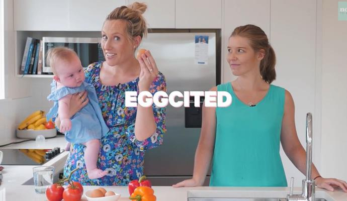 Kate's a wee bit excited to be talking all-things eggs, something she says they spend *a lot* on in her household.