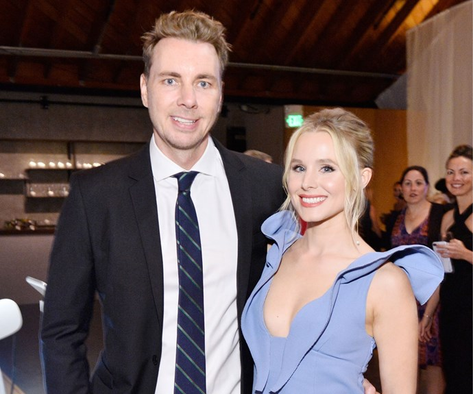Kristen Bell reminds everyone love is not dead with perfectly timed wedding photo
