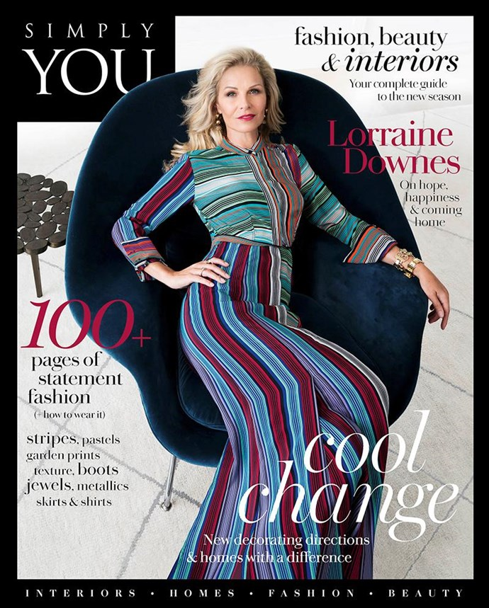 ***For more fashion and interior trends, and how to style them, pick up a copy of the new Simply You today.***