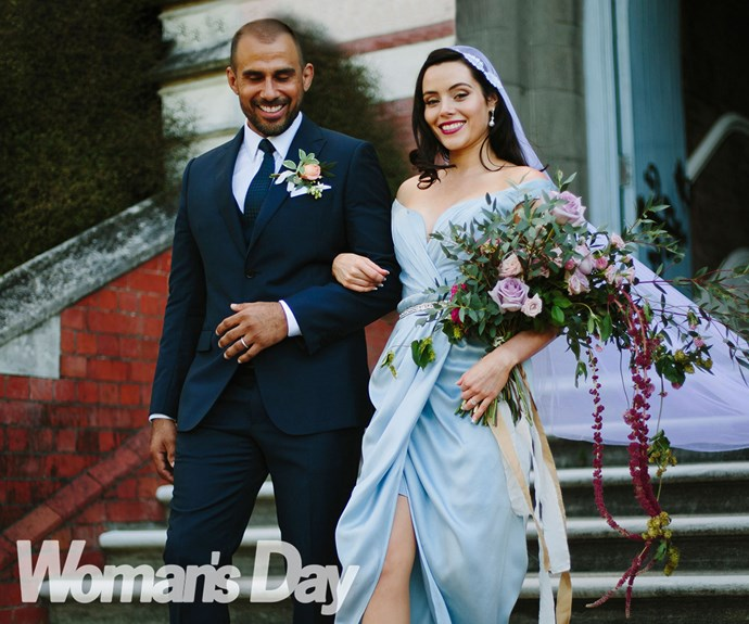 Shortland Street actress Emily Robins' dream wedding