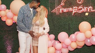 Pregnant Khloe Kardashian's boyfriend Tristan Thompson has reportedly been seen kissing another woman