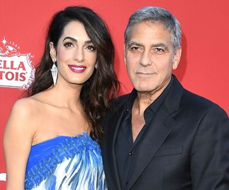 Amal and George Clooney reveal their twins' first words