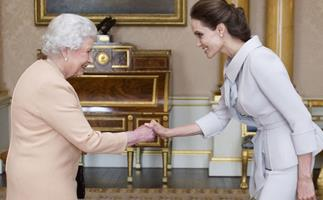 Angelina Jolie shares the life lesson from Queen Elizabeth that she's teaching her kids