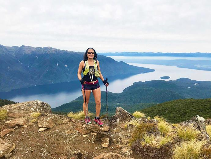 The athlete nails Fiordland's Kepler Track in just one day!
