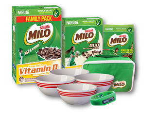 Win a Milo Cereal Champ pack
