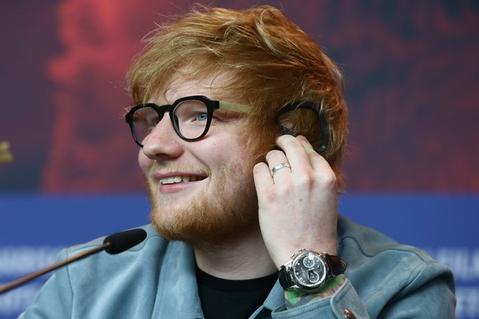 Ed Sheeran is accused of wanting to build railings around his house to keep out the homeless