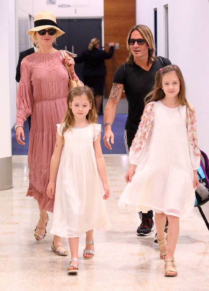 Nicole and Keith with daughters Faith and Sunday