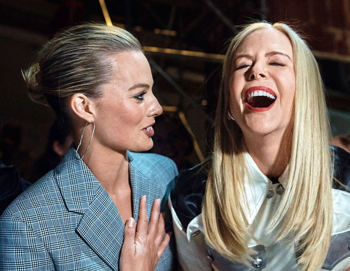 Margot Robbie and Nicole Kidman