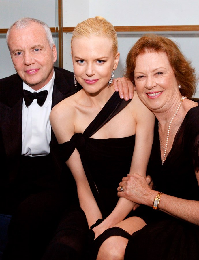 Nicole with parents Antony and Janelle