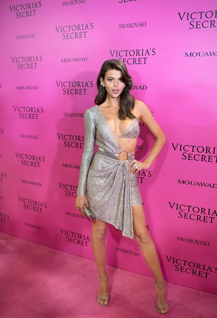 A show of her own is a dream come true for the Victoria's Secret model.